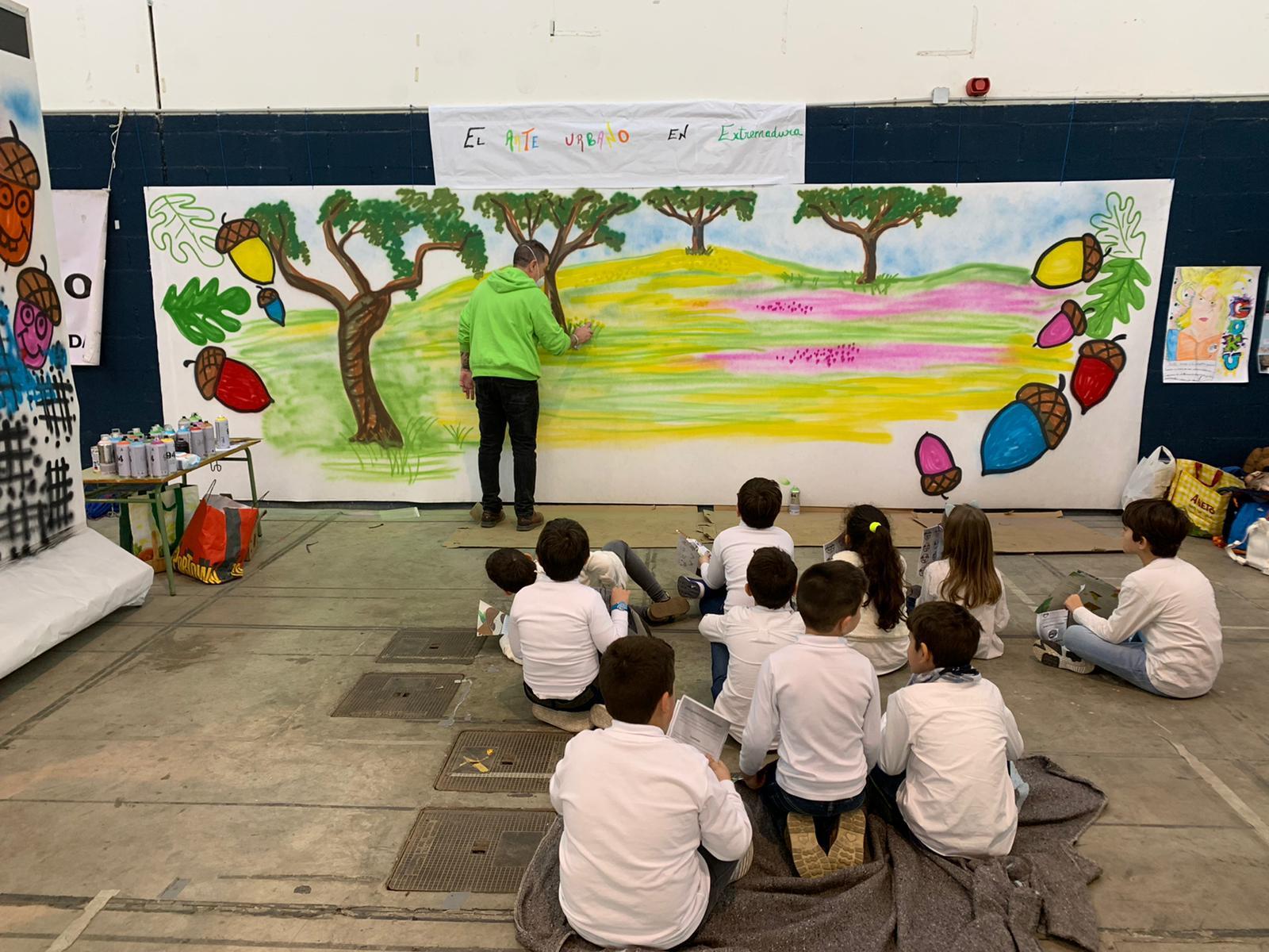 Clausura de la Semana de Extremadura en la escuela